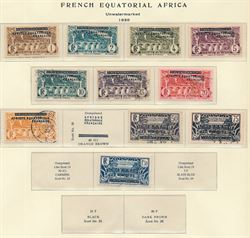 French Colonies 1936-57